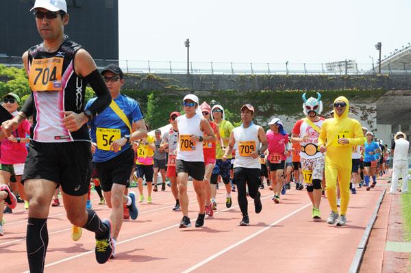 24時間リレーマラソン神戸